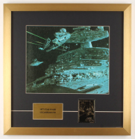 """Star Wars"" 19x19.5 Custom Framed Vintage Print Display with 24 KT Gold Card at PristineAuction.com"