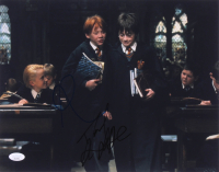 "Daniel Radcliffe & Rupert Grint Signed ""Harry Potter and the Sorcerer's Stone"" 11x14 Photo (JSA COA) at PristineAuction.com"