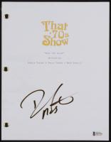 "Danny Masterson Signed ""That '70s Show"" Pilot Episode Script (Beckett COA) at PristineAuction.com"