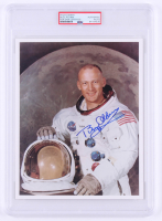 Buzz Aldrin Signed NASA 8x10 Photo (PSA Encapsulated) at PristineAuction.com