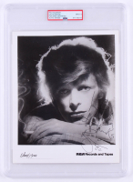"David Bowie Signed 8x10 Photo Inscribed ""With Thanks"" (PSA Encapsulated) at PristineAuction.com"