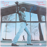 "Billy Joel Signed ""Glass Houses"" Vinyl Record Album Cover (PSA COA) at PristineAuction.com"