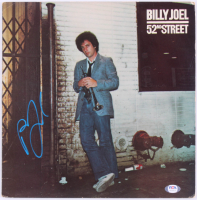 """Billy Joel Signed """"52nd Street"""" Vinyl Record Album Cover (PSA COA) at PristineAuction.com"""