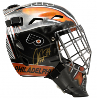 Carter Hart Signed Philadelphia Flyers Full-Size Goalie Mask (JSA COA) at PristineAuction.com