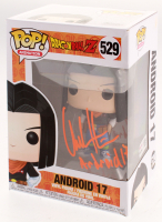 """Chuck Huber Signed """"Dragon Ball Z"""" Andriod 17 #529 Funko Pop! Vinyl Figure Inscribed """"Andriod 17"""" (Tristar Hologram) at PristineAuction.com"""