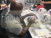 Emmitt Smith Signed Florida Gators Throwback Full-Size Authentic On-Field Helmet (Prova COA) at PristineAuction.com