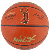 Magic Johnson Signed NBA Finals Game Ball Series Basketball (Beckett COA) at PristineAuction.com