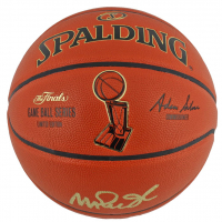 Magic Johnson Signed NBA Finals Game Ball Series Basketball (Beckett COA) at PristineAuction.com
