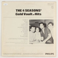 """Frankie Valli Signed """"The 4 Seasons: Gold Vault of Hits"""" Vinyl Record Album Cover (JSA COA) at PristineAuction.com"""