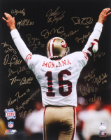 49ers 16x20 Photo Team-Signed by (20) with Joe Montana, Jerry Rice, Roger Craig, Mike Walter (JSA COA & Beckett COA) at PristineAuction.com