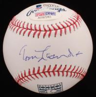 Tommy Lasorda Signed OML Hall of Fame Baseball (Beckett COA & PSA Hologram) at PristineAuction.com