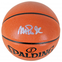 Magic Johnson Signed NBA Game Ball Series Basketball (Beckett COA) at PristineAuction.com