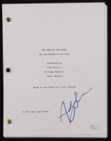 """Andy Serkis Signed """"The Lord of the Rings: The Fellowship of the Ring"""" Movie Script (JSA COA) at PristineAuction.com"""