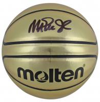 Magic Johnson Signed Molten Basketball (Beckett COA) at PristineAuction.com