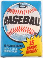 1980 Topps Baseball Wax Packs at PristineAuction.com