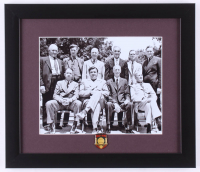 MLB Hall of Fame Inaugural Class 13x15 Custom Framed Photo with Hall of Fame Pin at PristineAuction.com