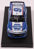 Chase Elliott Signed NASCAR #9 NAPA Darlington 2019 Camaro ZL1 - 1:24 Premium Action Diecast Car (Chase Elliott COA) at PristineAuction.com
