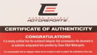 Chase Elliott Signed NASCAR #9 NAPA Darlington 2019 Camaro ZL1 - 1:24 Premium Action Diecast Car (Chase Elliott COA) at PristineAuction.com