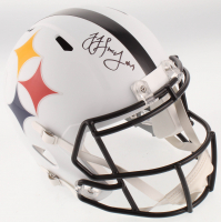 JuJu Smith-Schuster Signed Pittsburgh Steelers AMP Alternate Full-Size Speed Helmet (JSA COA) at PristineAuction.com