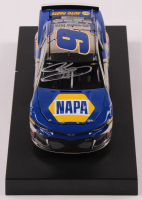 Chase Elliott Signed NASCAR #9 NAPA 2019 Camaro ZL1 - Color Chrome - 1:24 Premium Action Diecast Car (Chase Elliott COA) at PristineAuction.com