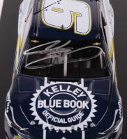 Chase Elliott Signed NASCAR #9 Kelley Blue Book 2019 Camaro ZL1 - 1:24 Premium Action Diecast Car (Chase Elliott COA) at PristineAuction.com