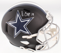 Amari Cooper Signed Cowboys Full-Size Matte Black Speed Helmet (JSA COA) at PristineAuction.com