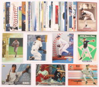Lot of (50) Derek Jeter Baseball Cards with 2000 Upper Deck HoloGrFX #87, 1994 Upper Deck #550, 2000 SPx #88, 2003 Topps Gallery #70, 2000 Finest #60, 1993 Topps #98 RC at PristineAuction.com