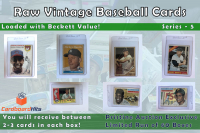 Cardboard Hits Presents Vintage Card Mystery Boxes Series 5 at PristineAuction.com