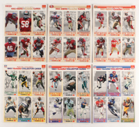Lot of (36) 1993 GameDay Football Cards with #13 Dan Marino,  #20 Barry Sanders, #21 Deion Sanders, #80 Jerry Rice, #10 John Elway, #1 Troy Aikman at PristineAuction.com