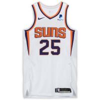 Mikal Bridges Signed Suns Game-Used Jersey (Fanatics Hologram) at PristineAuction.com