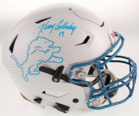 Kenny Golladay Signed Lions Full-Size Authentic On-Field Hydro-Dipped SpeedFlex Helmet (JSA COA) at PristineAuction.com