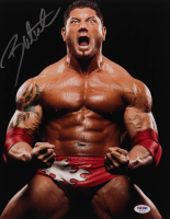 Dave Bautista Signed WWE 11x14 Photo (PSA Hologram) at PristineAuction.com