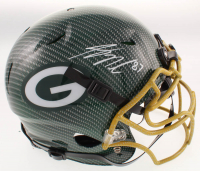 Jordy Nelson Signed Packers Full-Size Authentic On-Field Hydro-Dipped Helmet (JSA Hologram) at PristineAuction.com