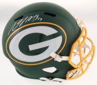 Davante Adams Signed Packers Full-Size AMP Alternate Speed Helmet (JSA COA) at PristineAuction.com