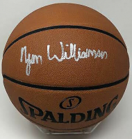 Zion Williamson Signed NBA Authentic Game Ball Series Basketball (Fanatics Hologram) at PristineAuction.com