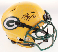 Jordy Nelson Signed Packers Full-Size Authentic On-Field Hydro-Dipped Helmet (JSA COA) at PristineAuction.com