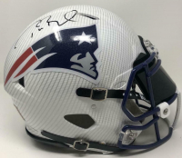 Tom Brady Signed Patriots Custom Hydro Dipped Full-Size Authentic On-Field Speed Helmet (Tristar Hologram) at PristineAuction.com