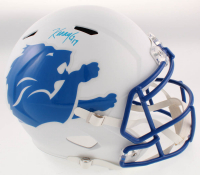 Kenny Golladay Signed Lions Full-Size AMP Alternate Speed Helmet (JSA COA) at PristineAuction.com