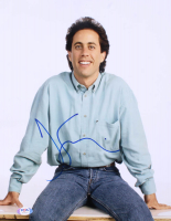 """Jerry Seinfeld Signed """"Seinfeld"""" 11x14 Photo (PSA Hologram) at PristineAuction.com"""