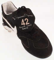 "Mariano Rivera Signed Game-Used Nike Cleat Inscribed ""Game Used 2003"" (Steiner COA) at PristineAuction.com"