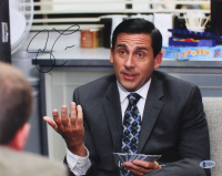 """Steve Carell Signed """"The Office"""" 11x14 Photo (Beckett COA) at PristineAuction.com"""