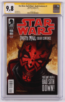 "Dave Dorman Signed 2012 ""Star Wars: Darth Maul-Death Sentence"" #1 Dark Horse Comic Book (CGC 9.8) at PristineAuction.com"