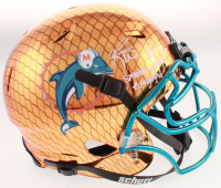 """Ricky Williams Signed Dolphins Full-Size Authentic On-Field Hydro-Dipped Vengeance Helmet Inscribed """"Smoke Weed Everyday"""" (JSA Hologram) at PristineAuction.com"""