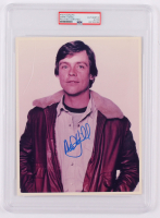 Mark Hamill Signed 8x10 Photo (PSA Encapsulated) at PristineAuction.com