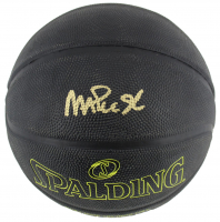 Magic Johnson Signed Street Phantom NBA Basketball (Beckett COA) at PristineAuction.com