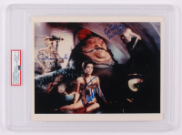 "Carrie Fisher, Michael Carter & Anthony Daniels Signed ""Star Wars VI: Return of the Jedi"" 8x10 Photo (PSA Encapsulated) at PristineAuction.com"