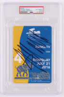 Donald Trump Signed 2016 Republican National Convention Ticket (PSA Encapsulated) at PristineAuction.com