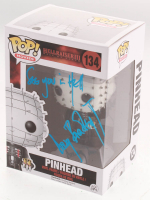 """Doug Bradley Signed """"Pinhead"""" Hellraiser III #134 Funko Pop! Vinyl Figure Inscribed """"See You In Hell"""" (Legends COA) at PristineAuction.com"""