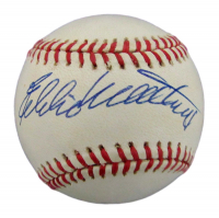 Eddie Mathews Signed ONL Baseball (JSA COA) at PristineAuction.com