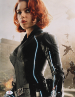 "Scarlett Johansson Signed ""The Avengers"" 11x14 Photo (PSA Hologram) at PristineAuction.com"
